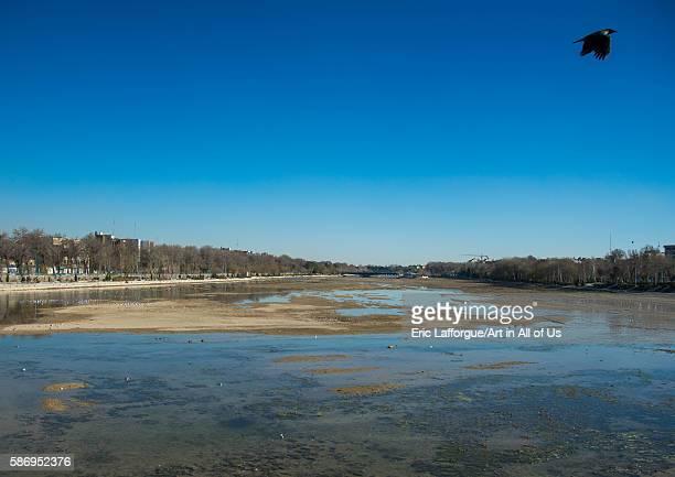 Zayandeh river isfahan province isfahan Iran on January 5 2016 in Isfahan Iran