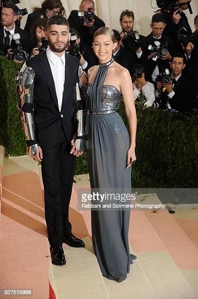 Zayn Malik and Gigi Hadid attends 'Manus x Machina Fashion In An Age Of Technology' Costume Institute Gala at