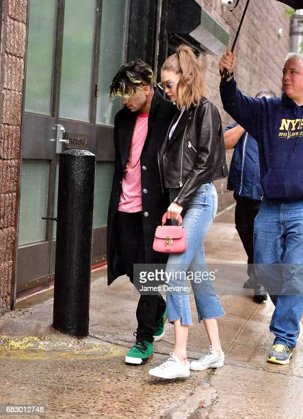 Zayn Malik and Gigi Hadid seen on the streets of Brooklyn on May 13 2017 in New York City