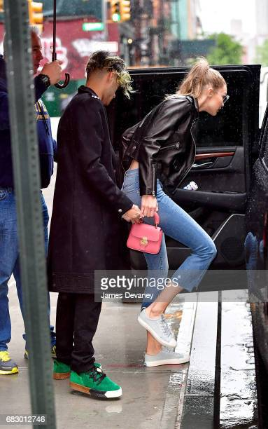 Zayn Malik and Gigi Hadid seen on the streets of Manhattan on May 13 2017 in New York City