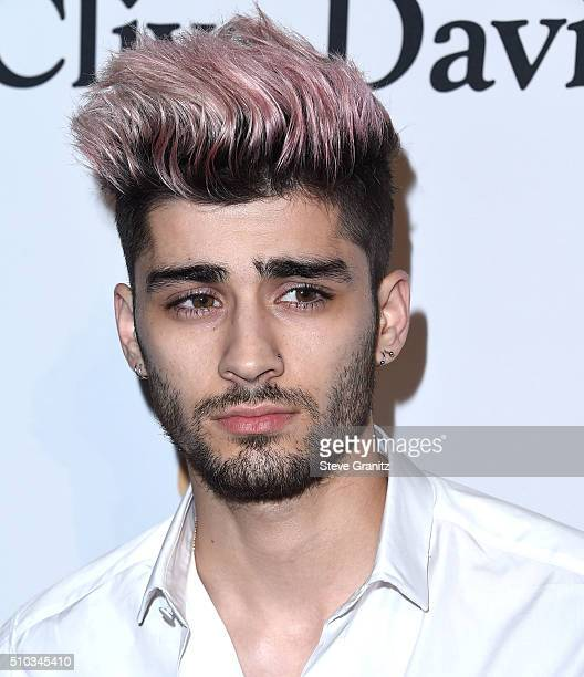 Zayn Malik arrives at the 2016 PreGRAMMY Gala And Salute to Industry Icons Honoring Irving Azoff at The Beverly Hilton Hotel on February 14 2016 in...