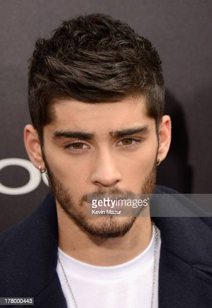 Zayn Malik attends the New York premiere of 'One Direction This Is Us' at the Ziegfeld Theater on August 26 2013 in New York City