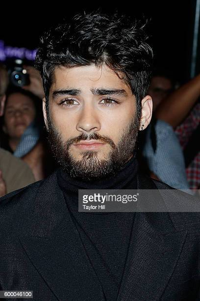 Zayn Malik attends the Tom Ford Fall 2016 fashion show during New York Fashion Week September 2016 at The Four Seasons on September 7 2016 in New...