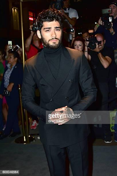 Zayn Malik attends the Tom Ford September 2016 New York Fashion Week show on September 7 2016 in New York City