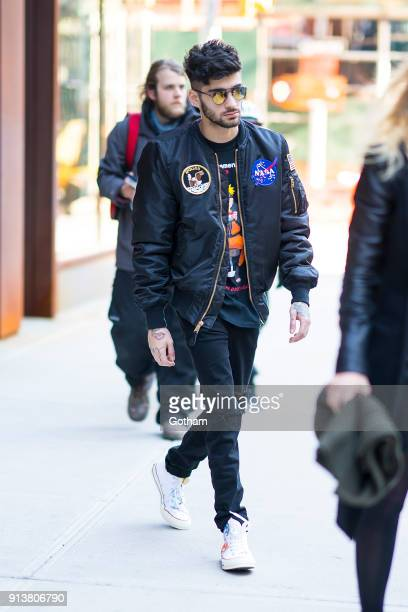 Zayn Malik is seen in NoHo on February 3 2018 in New York City