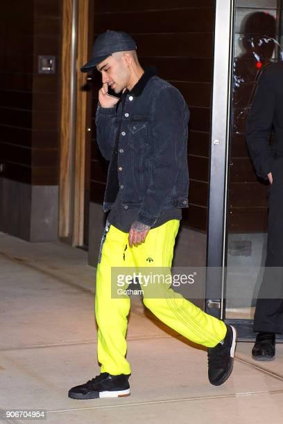 Zayn Malik is seen in NoHo on January 18 2018 in New York City
