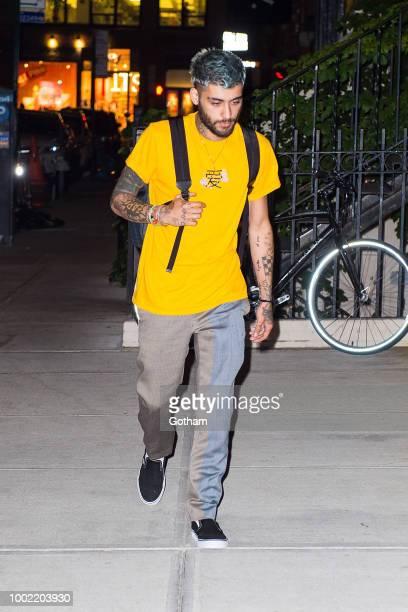 Zayn Malik is seen in NoHo on July 19 2018 in New York City