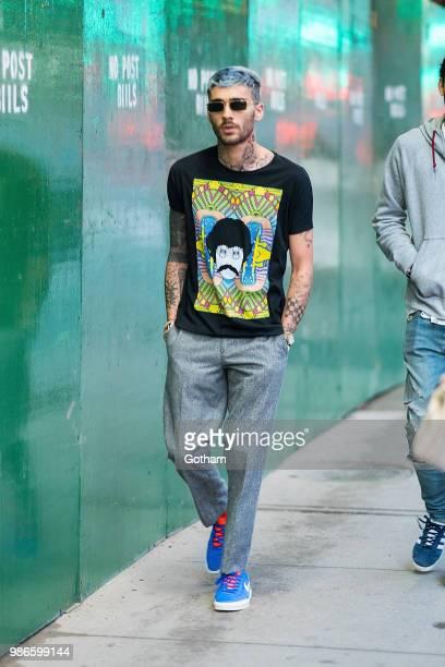 Zayn Malik is seen in NoHo on June 28 2018 in New York City