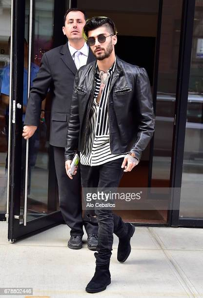 Zayn Malik is seen in Noho on May 4 2017 in New York City