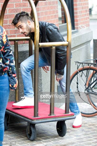 Zayn Malik is seen in Tribeca on May 7 2017 in New York City