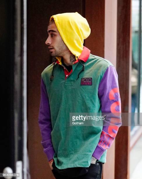 Zayn Malik is seen on April 30 2018 in New York City