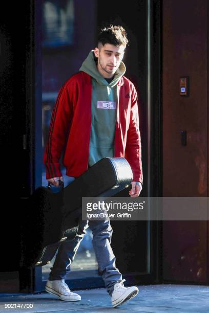 Zayn Malik is seen on January 06 2018 in New York City
