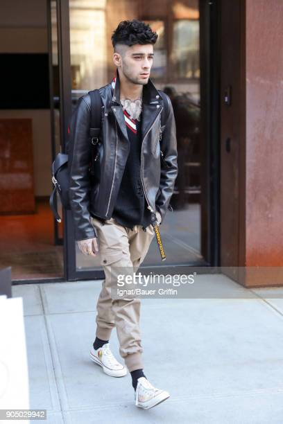 Zayn Malik is seen on January 14 2018 in New York City