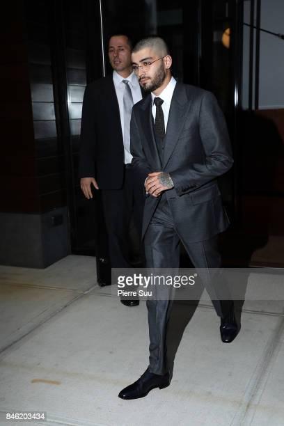 Zayn Malik is seen on September 12 2017 in New York City