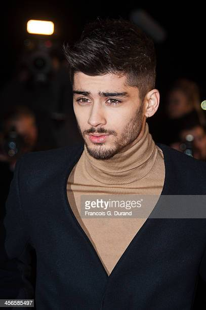 Zayn Malik of One Direction attends the 15th NRJ Music Awards at Palais des Festivals on December 14 2013 in Cannes France