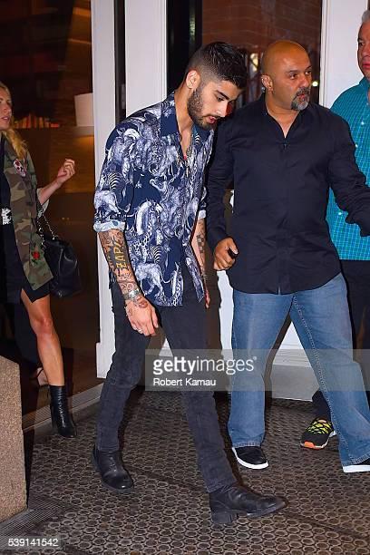 Zayn Malik seen out in SoHo on June 9 2016 in New York City