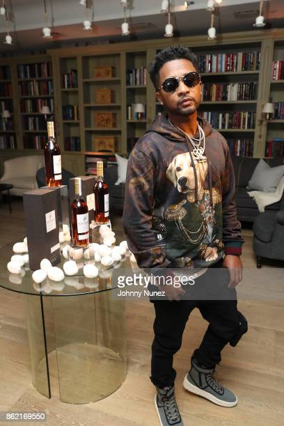 Zaytoven Attends Remy Martin Presents Carte Blanche Merpins With Cellar Master Baptiste Loiseau And Super Producer Zaytoven at Whitby Hotel Reading...