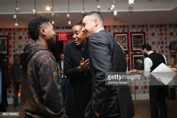 Zaytoven, Naeemah Leonard and Baptiste Loiseau Attend Remy Martin Presents Carte Blanche Merpins With Cellar Master Baptiste Loiseau And Super...