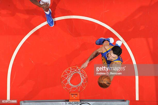Zaza Pachulia of the Golden State Warriors shoots the ball against the LA Clippers on December 7 2016 at STAPLES Center in Los Angeles California...