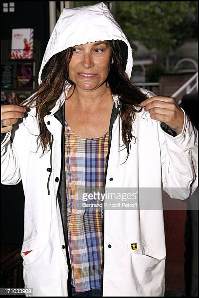 Zazie at Launch Of Web Site Of Drunk Driving Awareness Association Ferdinand Chesnais
