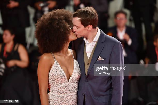 """Zazie Beetz and David Rysdahl walk the red carpet ahead of the """"Seberg"""" screening during the 76th Venice Film Festival at Sala Grande on August 30,..."""