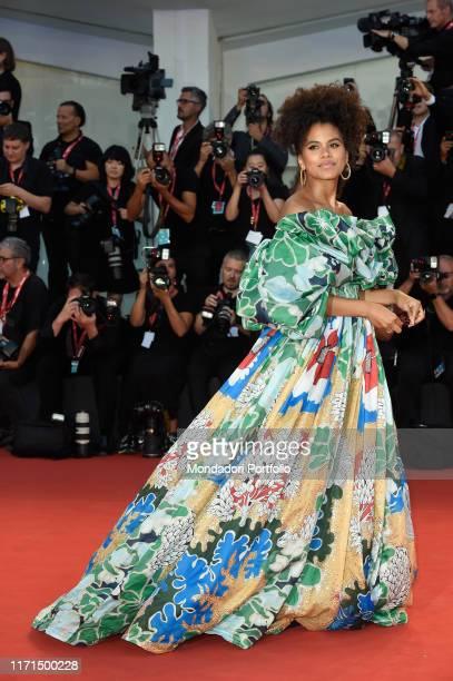 Zazie Beetz at the 76 Venice International Film Festival 2019. Joker red carpet. Venice , August 31th, 2019