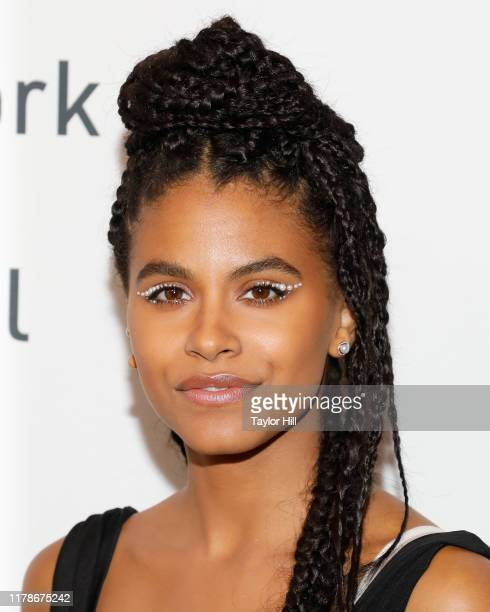 Zazie Beetz attends a New York screening of Joker during the 57th annual New York Film Festival at Alice Tully Hall Lincoln Center on October 02 2019...