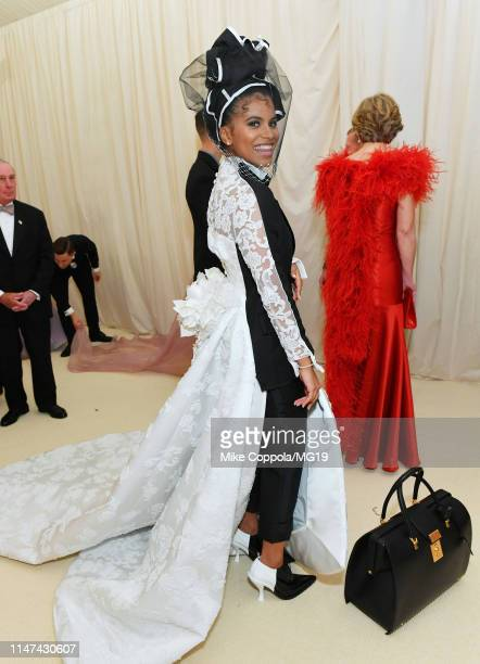 Zazie Beetz attends The 2019 Met Gala Celebrating Camp: Notes on Fashion at Metropolitan Museum of Art on May 06, 2019 in New York City.