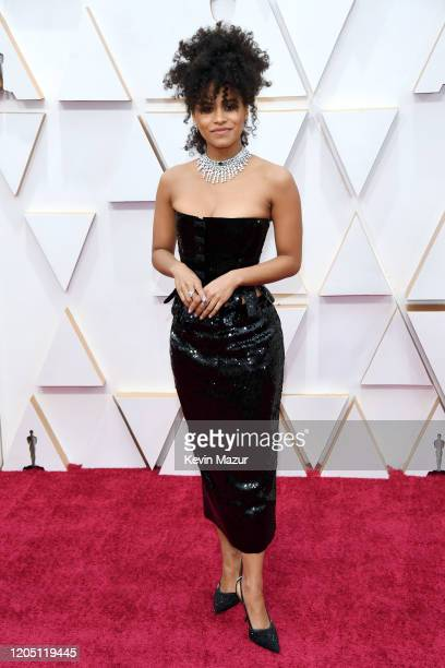 Zazie Beetz attends the 92nd Annual Academy Awards at Hollywood and Highland on February 09 2020 in Hollywood California