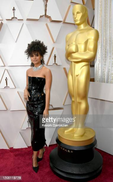 Zazie Beetz attends the 92nd Annual Academy Awards at Hollywood and Highland on February 09 2020 in Hollywood California Zazie Beetz