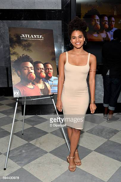 Zazie Beetz attends the Atlanta New York screening at The Paley Center for Media on August 23 2016 in New York City