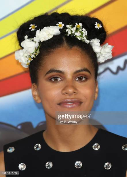 Zazie Beetz attends the 'Deadpool 2' photocall at Empire Casino Leicester Square on May 10 2018 in London England