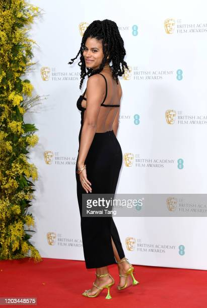 Zazie Beetz attends the EE British Academy Film Awards 2020 Nominees' Party at Kensington Palace on February 01 2020 in London England