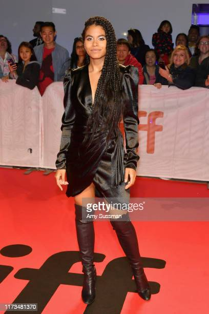 Zazie Beetz attends the Joker premiere during the 2019 Toronto International Film Festival at Roy Thomson Hall on September 09 2019 in Toronto Canada