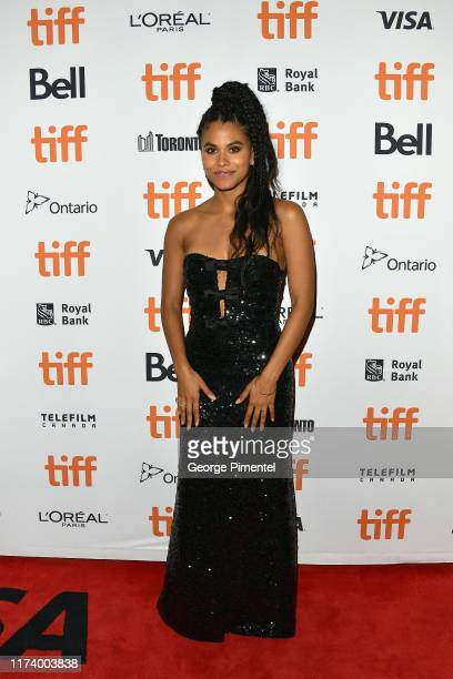"""Zazie Beetz attends the """"Lucy In The Sky"""" premiere during the 2019 Toronto International Film Festival at Princess of Wales Theatre on September 11,..."""