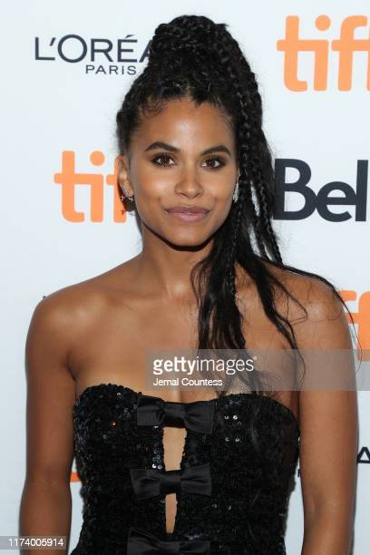 Zazie Beetz attends the Lucy In The Sky premiere during the 2019 Toronto International Film Festival at Princess of Wales Theatre on September 11...