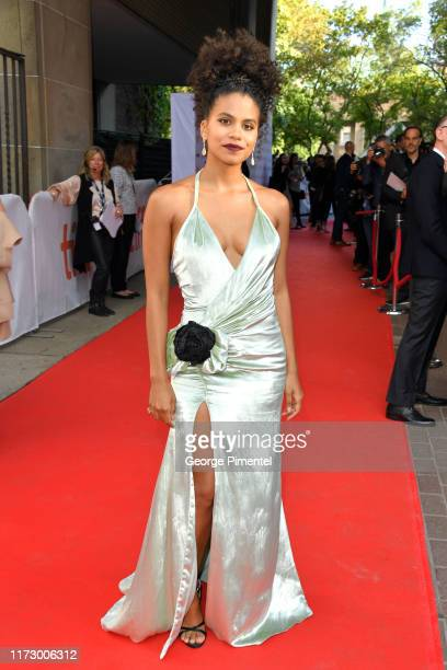 """Zazie Beetz attends the """"Seberg"""" premiere during the 2019 Toronto International Film Festival at Ryerson Theatre on September 07, 2019 in Toronto,..."""