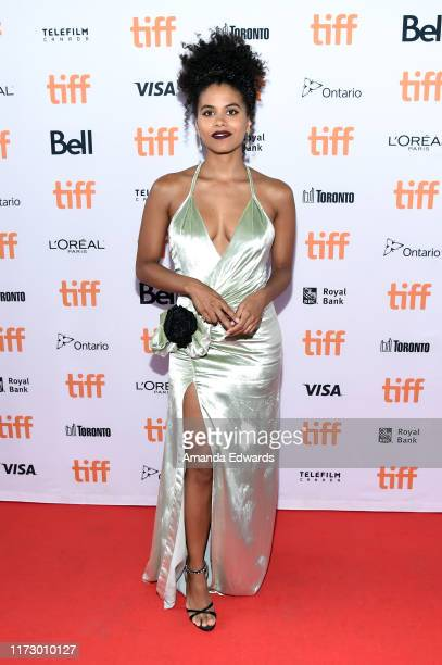 Zazie Beetz attends the Seberg premiere during the 2019 Toronto International Film Festival at Ryerson Theatre on September 07 2019 in Toronto Canada