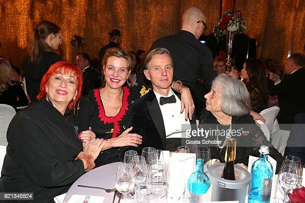 Zazie de Paris Margarita Broich Max Raabe and Margot Friedlaender during the aftershow party of the 23rd Opera Gala at Deutsche Oper Berlin on...
