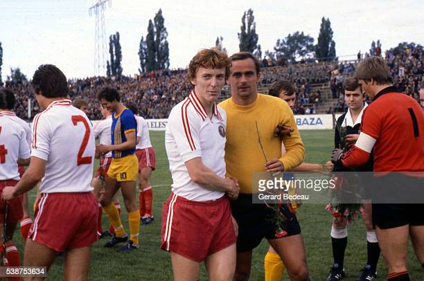 Zbigniew Boniek during the Poland Championship between Lodz and Varsovia on 10th July 1979