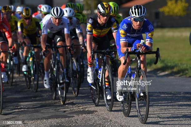 Zdenek Stybar of Czech Republic and Deceuninck - Quick-Step / during the 54th Tirreno-Adriatico 2019, Stage 3 a 226km stage from Pomarance to Foligno...