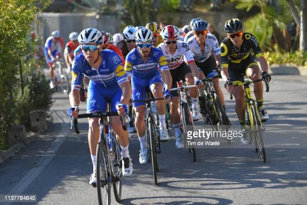 Zdenek Stybar of Czech Republic and Team Deceuninck - Quick-Step / Julian Alaphilippe of France and Team Deceuninck - Quick Step / Michal Kwiatkowski...
