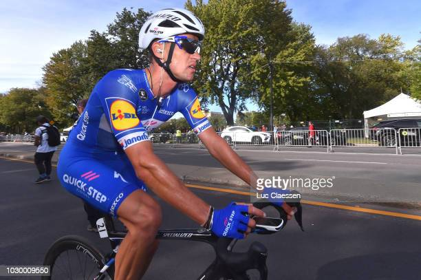 Zdenek Stybar of Czech Republic and Team QuickStep Floors / during the 9th Grand Prix Cycliste de Montreal 2018 a 1952km race from Montreal to...