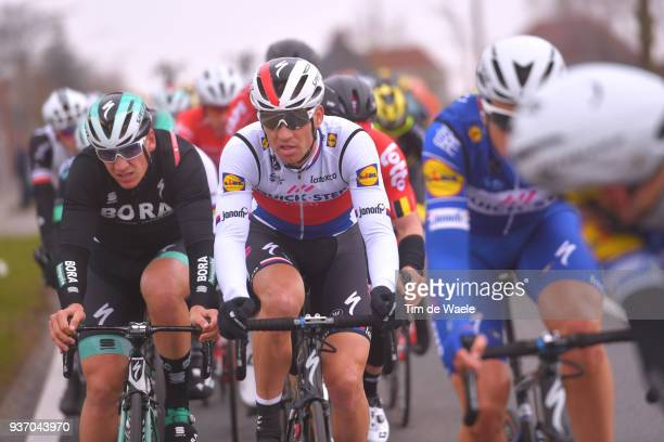 Zdenek Stybar of Czech Republic and Team Quick-Step Floors / during the 61st E3 Harelbeke 2018 a 206,4km race from Harelbeke to Harelbeke on March...