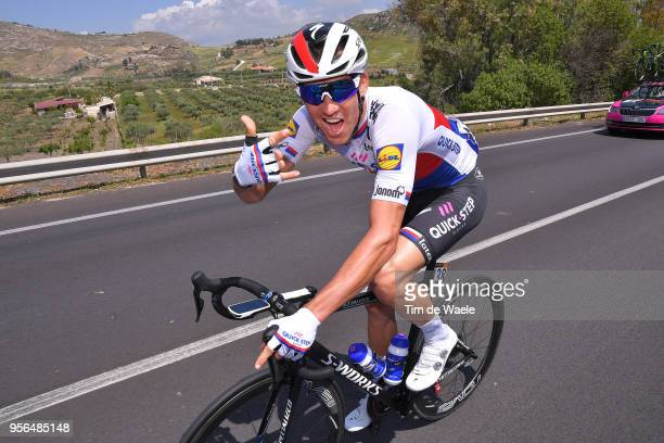 Zdenek Stybar of Czech Republic and Team Quick-Step Floors / during the 101th Tour of Italy 2018, Stage 5 a 153km stage from Agrigento to Santa...