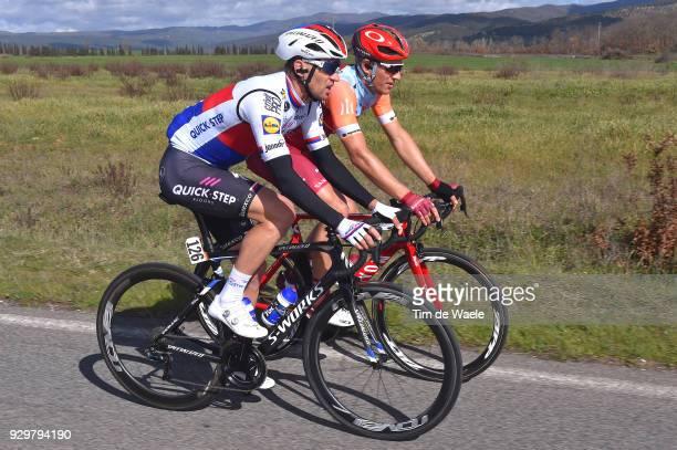 Zdenek Stybar of Czech Republic / Marcel Kittel of Germany Orange Sprint Jersey / during the 53rd TirrenoAdriatico 2018 Stage 3 a 239km stage from...