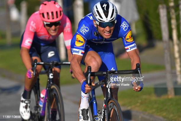 Zdeněk Štybar of Czech Republic and Team Deceuninck - Quick-Step / Alberto Bettiol of Italy and Team Ef Education First / during the 62nd E3...