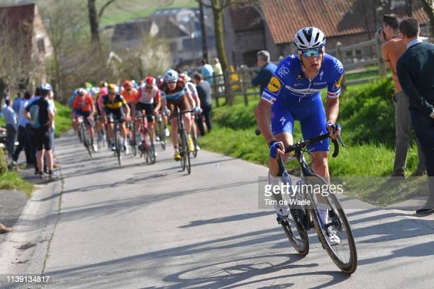 Zdeněk Štybar of Czech Republic and Team Deceuninck - Quick-Step / during the 62nd E3 Harelbeke 2019 a 203,9km race from Harelbeke to Harelbeke /...