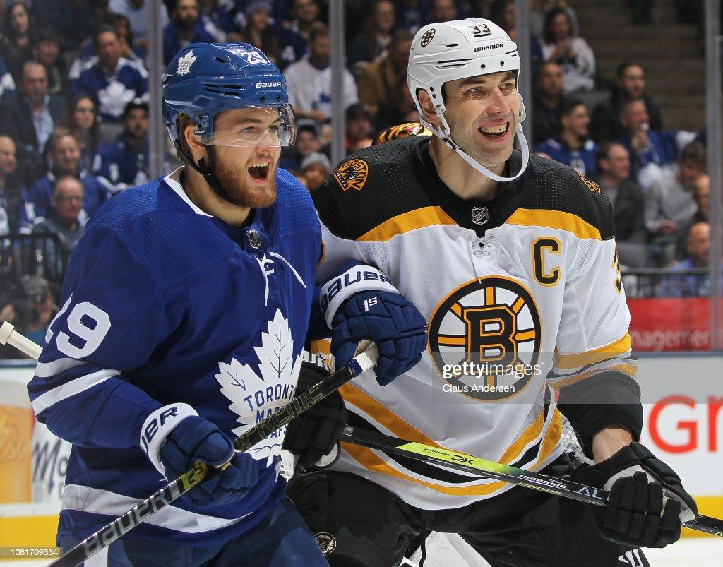 Boston Bruins v Toronto Maple Leafs : News Photo