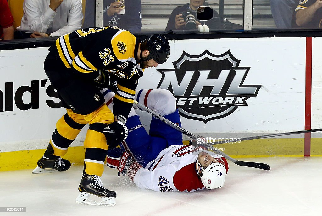 Montreal Canadiens v Boston Bruins - Game Seven : News Photo